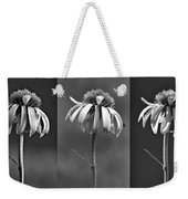 Light Of Day In Black And White Weekender Tote Bag