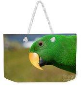 Light Of Love - Eclectus Parrot Weekender Tote Bag