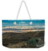 Light Of The Lord Weekender Tote Bag
