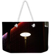 Light On At The Museum Weekender Tote Bag