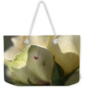 Light On My Face Weekender Tote Bag