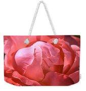 Light On Rose Weekender Tote Bag