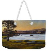 Light On The 18th Weekender Tote Bag