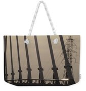 Light On The Bridge Weekender Tote Bag