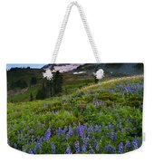 Light On The Mountain Weekender Tote Bag