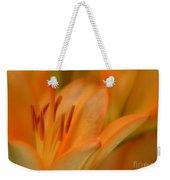 Light Orange Weekender Tote Bag