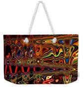 Light Painting 1 Weekender Tote Bag by Delphimages Photo Creations