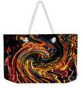 Light Painting 2 Weekender Tote Bag by Delphimages Photo Creations