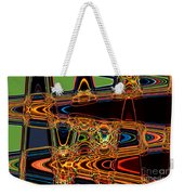Light Painting 3 Weekender Tote Bag by Delphimages Photo Creations