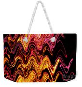Light Painting 5 Weekender Tote Bag by Delphimages Photo Creations