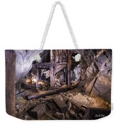 Light Painting In A Gold Mine 2 Weekender Tote Bag