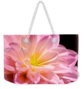 Light Pink Dahlia 1 Weekender Tote Bag