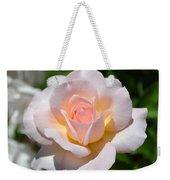 Light Pink Rose Weekender Tote Bag