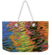 Light Reflections On The Water At Pleasure Island In Disney World Weekender Tote Bag