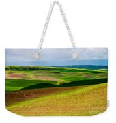 Light Shadow And Color Weekender Tote Bag