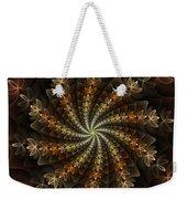 Light Spiral Weekender Tote Bag