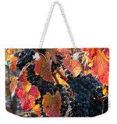Light Through Fall Vineyard Weekender Tote Bag