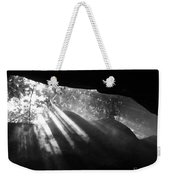 Light Through Mist In Cave Weekender Tote Bag