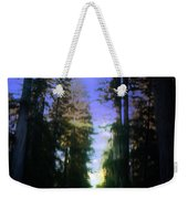 Light Through The Forest Weekender Tote Bag