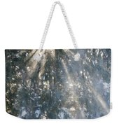 Light Throught The Trees Weekender Tote Bag