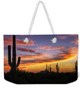 Light Up The Sky Southwest Style  Weekender Tote Bag