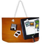 Lightbox With Slides Weekender Tote Bag