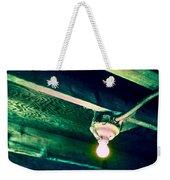 Lightbulb And Cobwebs Weekender Tote Bag