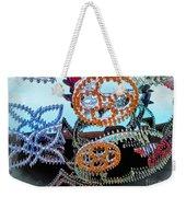 Lighted Circles Weekender Tote Bag