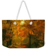 Lighted Trail Weekender Tote Bag