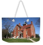 Lighthouse - 40 Mile Point Michigan Weekender Tote Bag