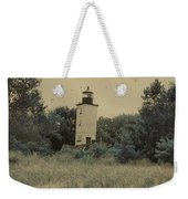 Erie Lighthouse Among The Trees Weekender Tote Bag
