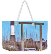 Lighthouse And Swing Weekender Tote Bag