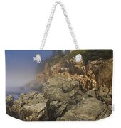 Lighthouse At Bass Harbor Maine Weekender Tote Bag