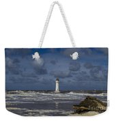 lighthouse at New Brighton Weekender Tote Bag