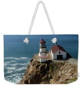 Lighthouse At Point Reyes Weekender Tote Bag