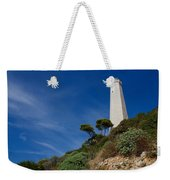 Lighthouse At Saint-jean-cap-ferrat France French Riviera Weekender Tote Bag