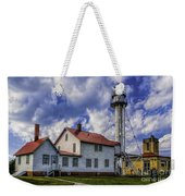 Lighthouse At Whitefish Point Weekender Tote Bag