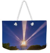 Lighthouse Beams By The Southern Cross Weekender Tote Bag
