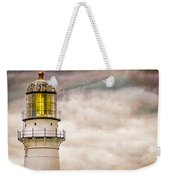 Lighthouse Cape Elizabeth Maine Weekender Tote Bag by Bob Orsillo