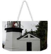 Lighthouse Cape Meares Weekender Tote Bag
