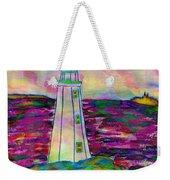 Lighthouse Digital Color Weekender Tote Bag