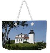 Lighthouse Fort Point Weekender Tote Bag