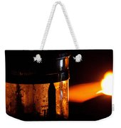 Lighthouse French Press Weekender Tote Bag