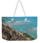 Lighthouse From Above Weekender Tote Bag
