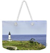 Lighthouse From Salal Hill Weekender Tote Bag