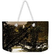 Lighthouse From The Distance Weekender Tote Bag