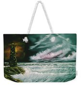 Lighthouse Glow Weekender Tote Bag