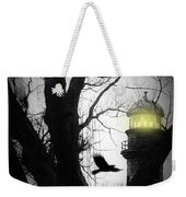 The Lighthouse Is Lit  Weekender Tote Bag
