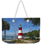 Lighthouse In Mount Dora Weekender Tote Bag