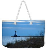 Lighthouse Lit Weekender Tote Bag